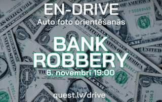 EN-Drive — Bank Robbery — Фото ориентирование на машинах