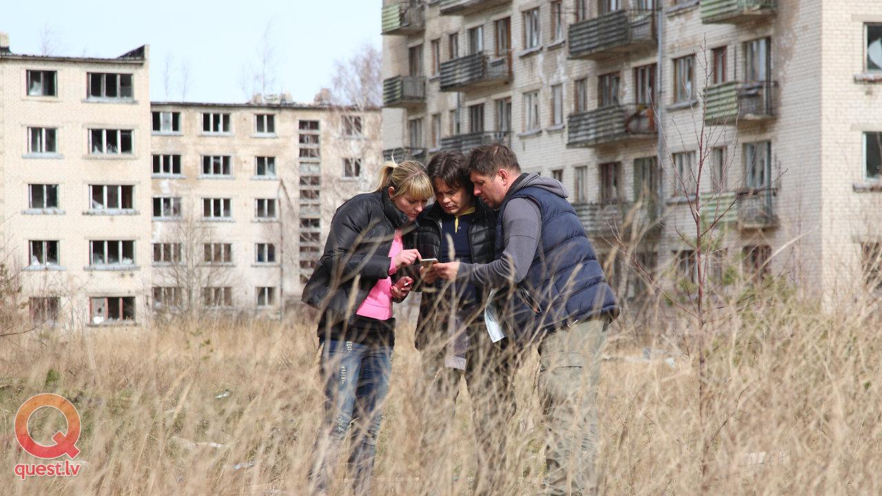 Spoku pilsētas noslēpumi — pilsētas orientēšanās spēle Bolderājā