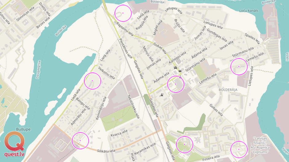 Photo Orienteering Game in Bolderaja