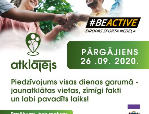 BeActive Eiropas Sporta Nedēļa 2020