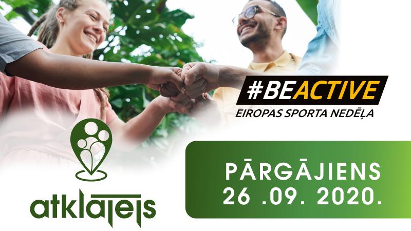 #BeActive Eiropas Sporta Nedēļa 2020